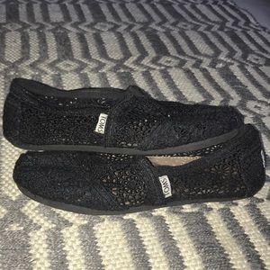 Crochet Tom loafers